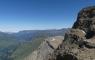 Sur le Pic Oriental de la Cascade
