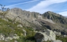Sentier montant vers le lac des Touest