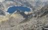 Lac d'Artouste depuis la crête du Lurien