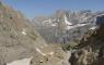 Marboté, pics de la cascade depuis le col des Sarradets