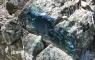 Suintement de minerai de cuivre