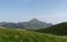 Le Montaigu depuis le lac de Bassias