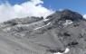 Vue sur le Mont Perdu depuis le passage sous le Cylindre du Marboré