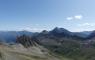 Vue depuis la Montagne des Glaciers