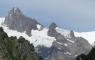 Vue depuis la Vallée des Glaciers