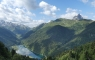 Lac de Fabrèges et Pic du Midi d'Ossau