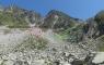 Le cheminement pour les lacs de Bernat Barrau inférieur